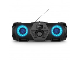 HIFI KPA JVC Boomblaster RV-NB300DAB [60 Watt RMS, DAB+, UKW, Bluetooth, CD, USB, Line-In, Fernbedienung]