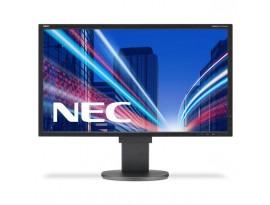 NEC MultiSync EA224WMi - 55 cm (21,5 Zoll), LED, IPS-Panel, Pivot, DisplayPort, schwarz