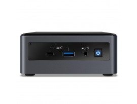"""Intel NUC 10 Performance Kit BXNUC10i7FNH2 - Intel i7-10710U, Intel UHD Graphics, 2x DDR4 SO-DIMM, 1x M.2, 1x 2,5"""" Bay, WiFi 6"""