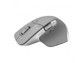 Logitech MX Master 3 Advanced Maus - Mid-Grey [Dual Connect, 2,4GHz & Bluetooth]