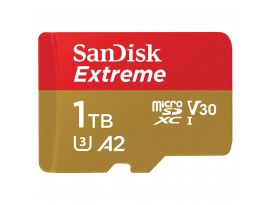 SanDisk microSD Extreme 1TB (A2) + Adapter