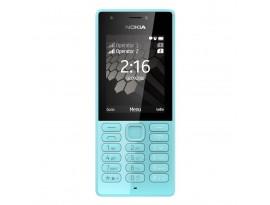 "Nokia 216 Dual-SIM Cyan [6,1cm (2,4"") TFT Display, Nokia Series 30+, 0.3MP Hauptkamera]"