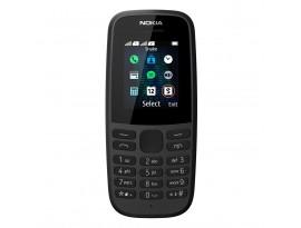 """Nokia 105 2019 Dual-SIM Schwarz [4,6cm (1,8"""") TFT Display, Nokia 30+ Serie]"""