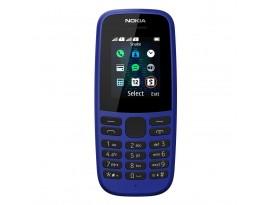 "Nokia 105 2019 Dual-SIM Blau [4,6cm (1,8"") TFT Display, Nokia 30+ Serie]"