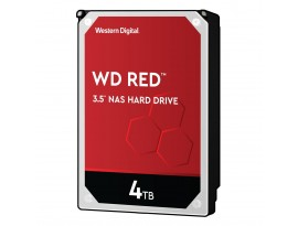 Western Digital WD Red 4TB 3.5 Zoll SATA 6Gb/s 256MB Cache - interne NAS Festplatte