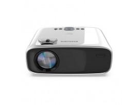 Philips NeoPix Easy+ Mini-Beamer - WVGA, 2600 LED-Lumen, 3000:1 Kontrast, HDMI, WLAN, Bluetooth, microSD