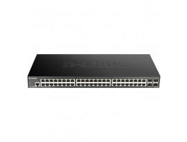 D-Link 52-Port Smart Managed Gigabit Stack Switch (DGS-1250-52X) [48-Port Gigabit, 4x SFP+]