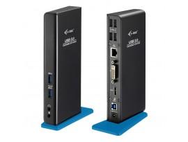 i-tec USB 3.0 Dual Docking Station [1x DVI, 1x HDMI, 2x USB 3.0, 4x USB 2.0]