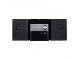 LG CM1560 Schwarz - Micro-HiFi Anlage mit Bluetooth (10W, DAB Radio, CD/USB)
