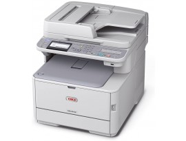 OKI MC573dn A4-Farb-4-in-1-Multifunktionsdrucker (RADF, Duplex, Netzwerk)