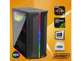 Stolno računalo Avenio OptiGamer AMD Ryzen 5 3600 3.60GHz 16GB 480GB SSD + 1TB HDD FreeDOS nVidia GeForce GTX 1660 SUPER 6GB GDDR6
