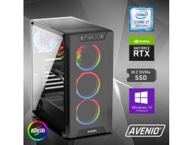 Stolno računalo Avenio ProGamerXT Intel Core i7 9700K 3.60GHz 16GB 1TB NVMe SSD W10P nVidia GeForce RTX 3060 12GB GDDR6
