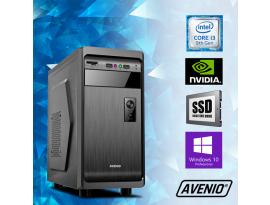 Stolno računalo Avenio ProOffice Intel Core i3 9100F 3.60GHz 8GB 120GB SSD + 500GB HDD DVDRW W10P nVidia GeForce GT710