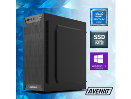 Stolno računalo Avenio ProOffice Intel Core i3 10100 3.60GHz 8GB 512GB NVMe SSD DVDRW W10P Intel UHD Graphics 630