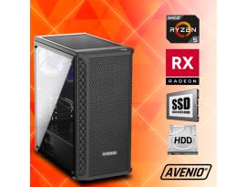 Stolno računalo Avenio TopGamer AMD Ryzen 5 3400G 3.70GHz 8GB 240GB SSD + 1TB HDD FreeDOS AMD Radeon RX 5500 XT 4GB GDDR6