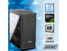 Stolno računalo Avenio TopGamer	Intel Core i3 9100F 3.60GHz 8GB 240GB SSD + 1TB HDD FreeDOS nVidia GeForce GTX 1650 SUPER 4GB GDDR6