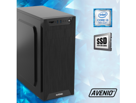 Stolno računalo Avenio TopOffice Intel Core i3 9100 3.60GHz 8GB 480GB SSD DVDRW FreeDOS Intel UHD Graphics 630