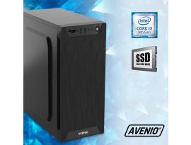 Stolno računalo Avenio TopOffice Intel Core i3 9100 3.60GHz 8GB 480GB SSD DVDRW FreeDOS Intel UHD Graphics 630