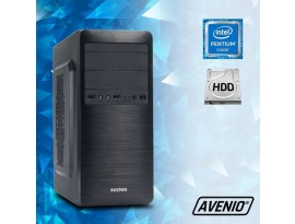 Stolno računalo Avenio TopOffice Intel Pentium G3240 3.10GHz 4GB 500GB DVDRW W10P Intel HD Graphics Windows 10 Professional