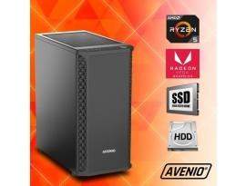 Stolno računalo Avenio Vindicator AMD Ryzen 5 3400G 3.70GHz 8GB 240GB SSD + 1TB HDD FreeDOS Radeon™ Vega 11 Graphics