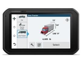 "Profesionalna navigacija Garmin dēzl 780 LMT-D Europe, Life time update, Bluetooth, 7"" kamionski mod"