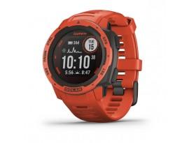 Pametni sportski GPS sat Garmin Instinct Solar Flame Red