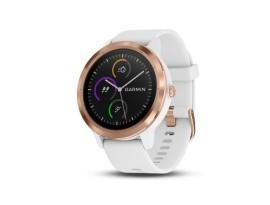 Pametni fitness GPS sat Garmin vivoactive 3 bijeli Rose Gold (crni remen)