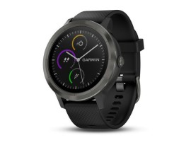 Pametni fitness GPS sat Garmin vivoactive 3 sivi (crni remen)