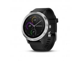 Pametni fitness GPS sat Garmin vivoactive 3 crno-srebrni (crni remen)