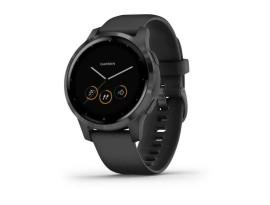 Pametni fitness GPS sat Garmin vivoactive 4S Slate (crni remen)