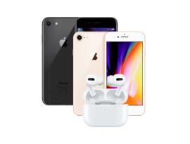 Apple iPhone 8 64GB + Air Pro refurbished - OUTLET AKCIJA