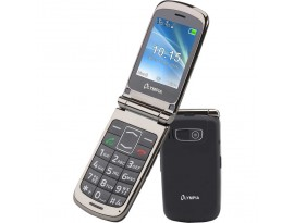 Olympia Style Plus 2G flip phone blk DE