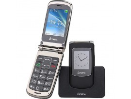 Olympia Style View 2G flip phone blk DE