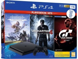 Igraća konzola PlayStation 4 1TB F chassis + GT Sport + Horizon Zero Dawn CE + Uncharted 4 Hits
