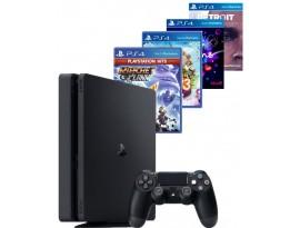 Igraća konzola PlayStation 4 500GB F Chassis Black + 2 HIT naslova po izboru