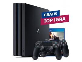 Igraća konzola PlayStation 4 Pro 1TB G chassis Black + PS4 Dualshock Controller Black + TOP naslov po izboru