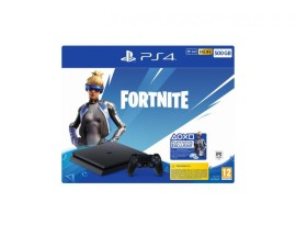 Igrača konzola PlayStation 4 500GB F + Fortnite VHC 2019