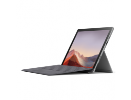 Microsoft Surface Pro 7 256GB mit i7 & 16GB - platin inkl. Surface Pro Signature Cover Light Charcoal