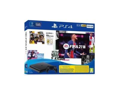 PlayStation 4 500GB F Chassis Black + FIFA 21 + FUT VCH + PS Plus 14 dana 121899
