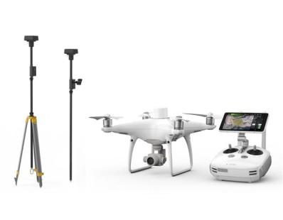 Dron DJI Phantom 4 RTK + D-RTK 2 Mobile Station Combo 94606