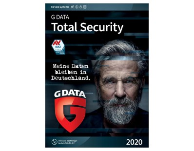 G DATA Total Security 2020 [3 Geräte - 1 Jahr] 104912
