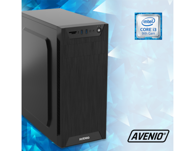 Stolno računalo Avenio TopOffice Intel Core i3 9100 3.60GHz 8GB 1TB DVDRW FreeDOS Intel UHD Graphics 630 122100
