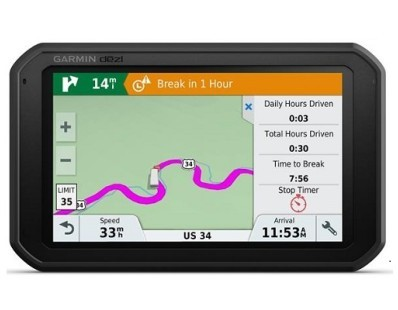 "Profesionalna navigacija Garmin dēzl 780 LMT-D Europe, Life time update, Bluetooth, 7"" kamionski mod 112852"