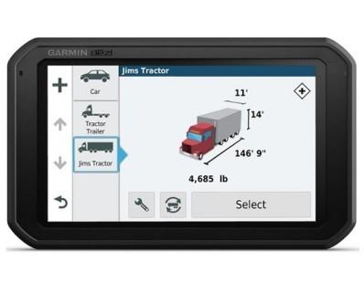 "Profesionalna navigacija Garmin dēzl 780 LMT-D Europe, Life time update, Bluetooth, 7"" kamionski mod 112851"