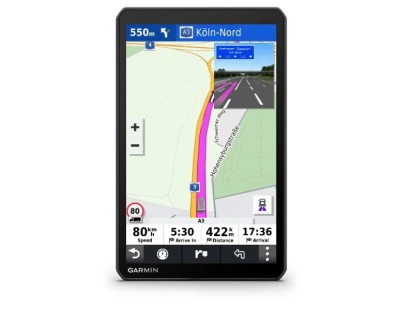 "Profesionalna GPS navigacija Garmin dēzl LGV800 MT-D Europe Bluetooth, 8"" kamionski mod 113438"