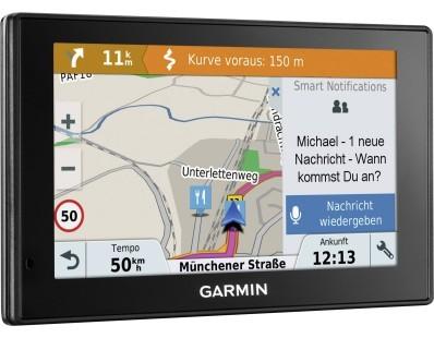 "Cestovna navigacija Garmin DriveSmart 51LMT-S Europe, Life time update, 5"" 112883"