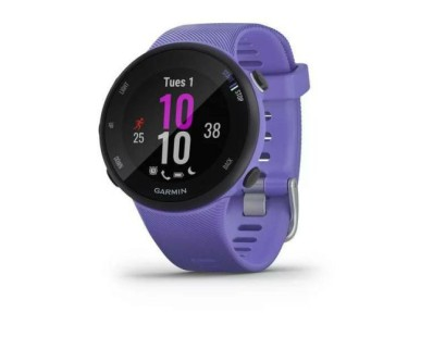 Pametni sportski GPS sat Garmin Forerunner 45S Iris ljubičasti 112556
