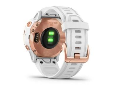 Pametni multisport GPS sat Garmin Fenix 6S PRO Rose Gold bijeli (bijeli remen, manje kućište) 112353