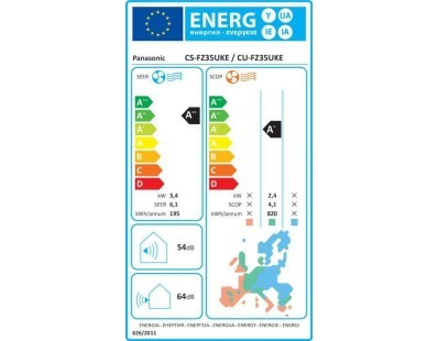 Klima uređaj Panasonic CS/CU-FZ35UKE, komplet 111833