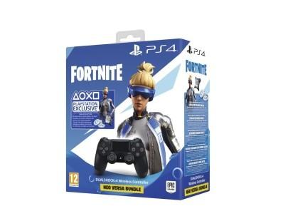 PS4 Dualshock Controller Black v2 + Fortnite VCH (2019) 500 VBucks 111984